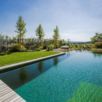Schwimmteich bauen
